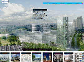 Screenshot website Van Rossum